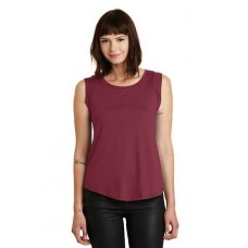 Alternative® Cap Sleeve Satin Jersey Crew T-Shirt. AA4013
