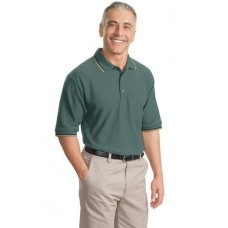 CLOSEOUT Port Authority® Cool Mesh™ Polo with Tipping Stripe Trim. K431