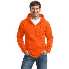 Port & Company® Tall Ultimate Full-Zip Hooded Sweatshirt. PC90ZHT