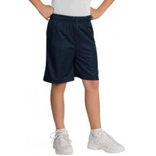 DISCONTINUED Sport-Tek® Youth Mesh Short.  YT510
