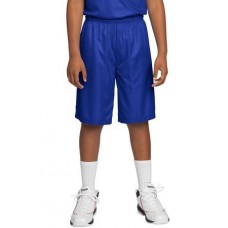 DISCONTINUED Sport-Tek® Youth PosiCharge® Mesh Reversible Short. YT560